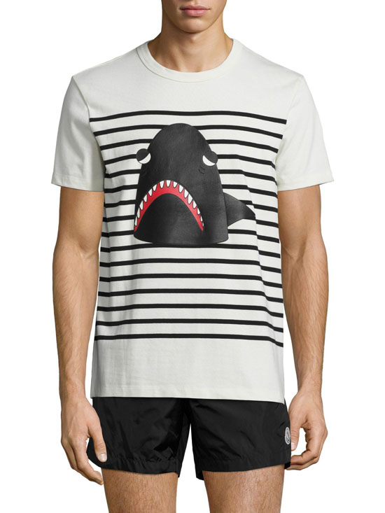 Aothungraphic _ MONCLER Maglia Striped Tee _ elleman11