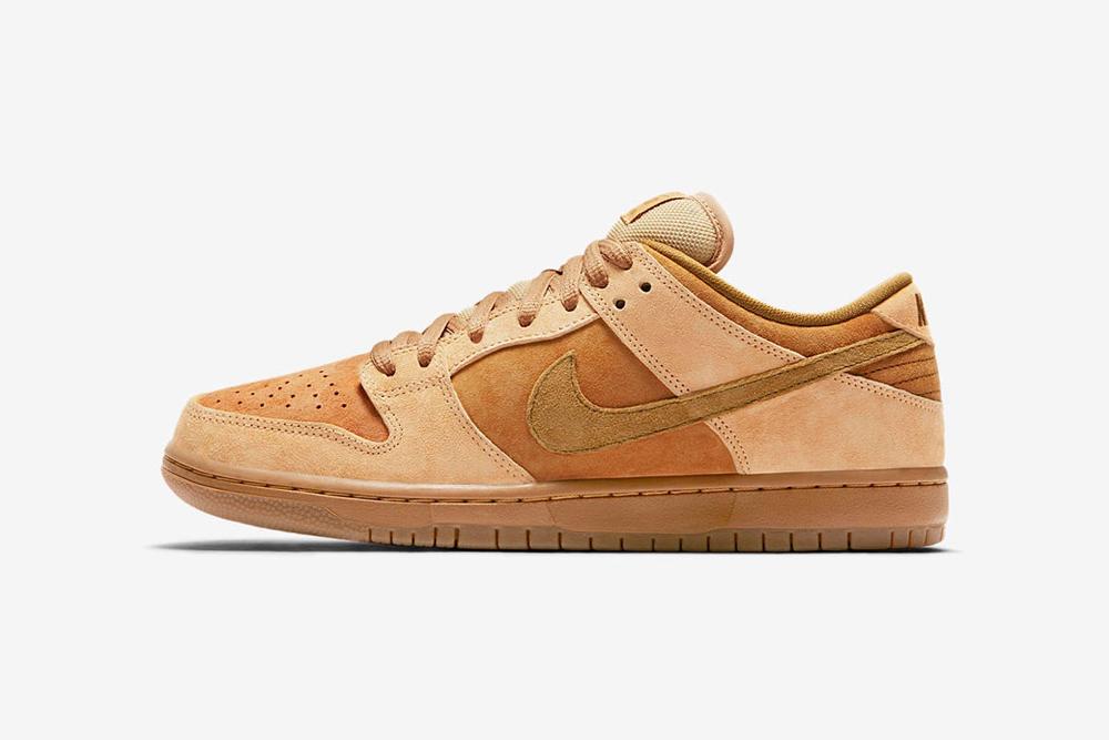 giay sneaker - phong cach thoi trang - elle man 7-Nike SB Dunk Low Pro-Wheat