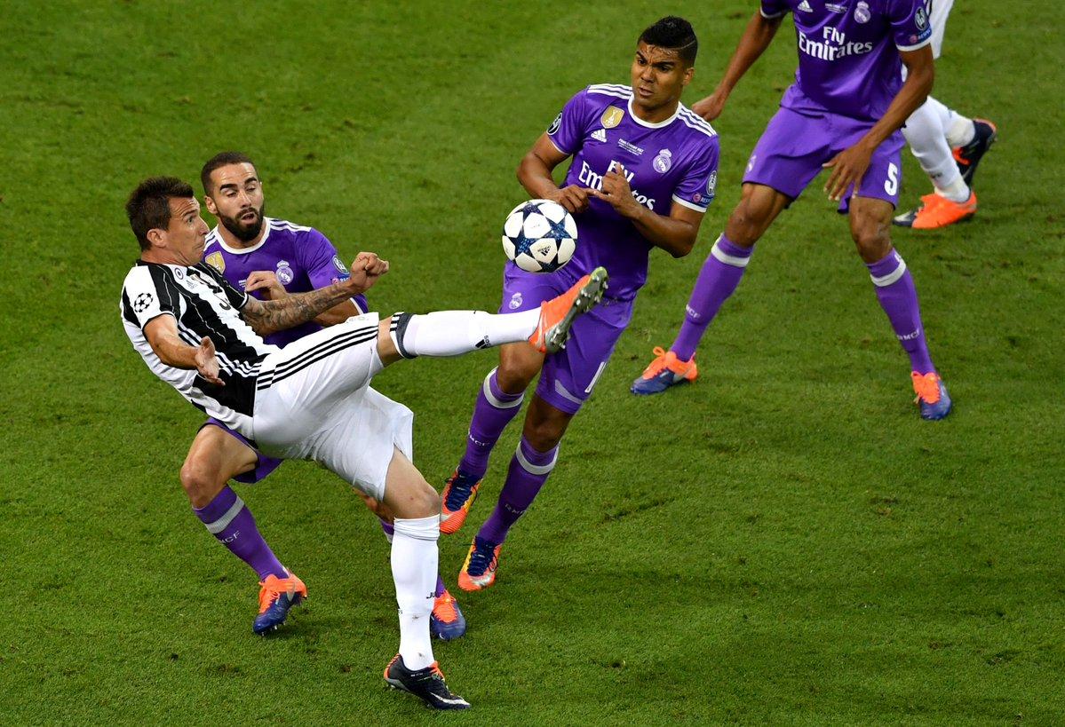 CHAMPIONS LEAGUE - Juventus - Real Marid- Elle man - Mandzukic