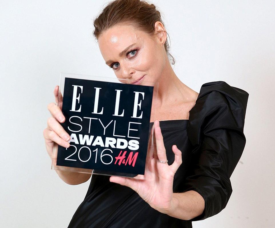 elle style awards - Stella McCartney - elle man