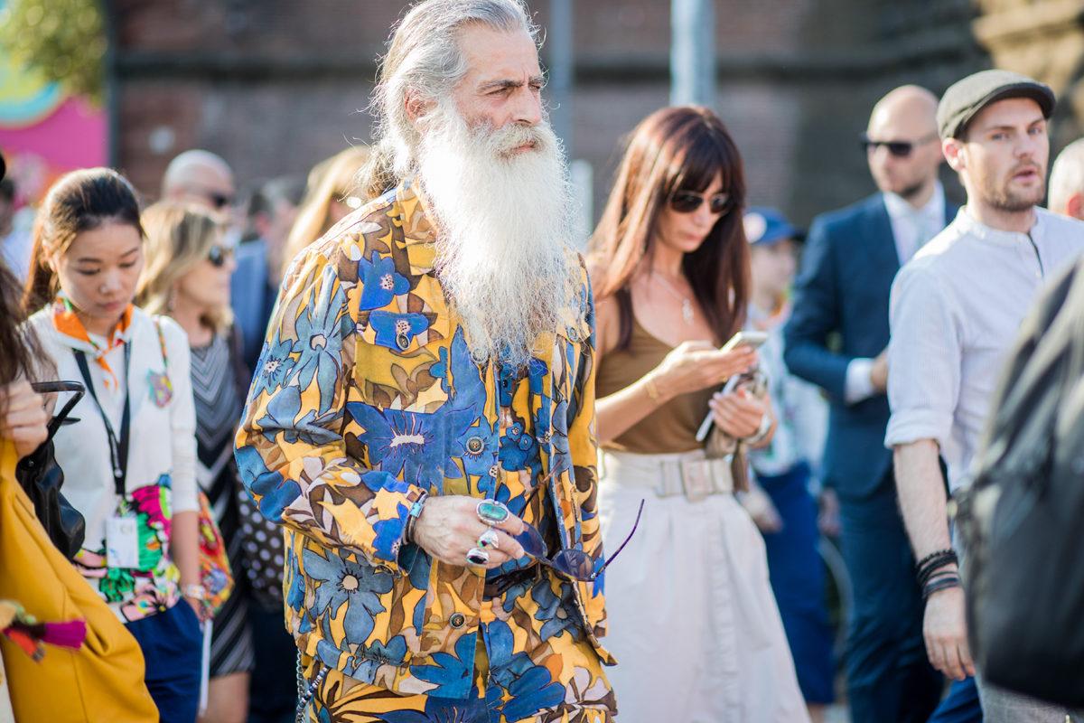 NTK Ermanno Gallamini với bộ râu siêu chất là điểm sáng trong ngày thứ 2 của Pitti Uomo 92