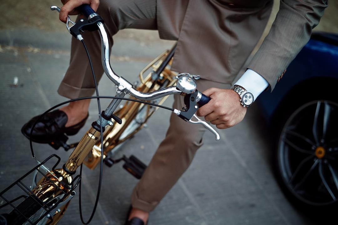 Chiếc xe đạp Dharma London có thể tính là món ấn tượng