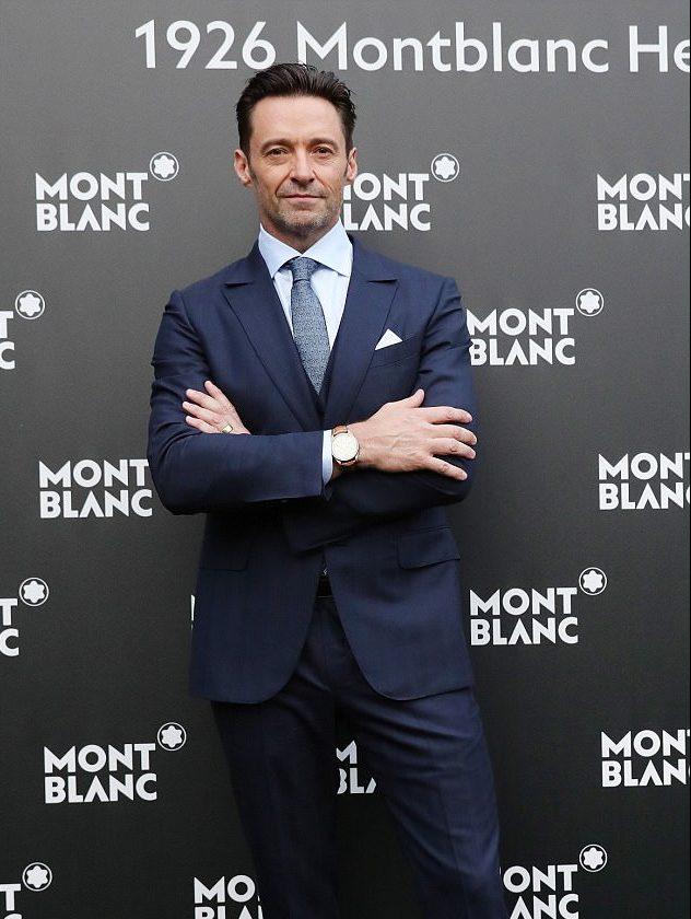 Đại sứ thương hiệu toàn cầu của Montblanc Hugh Jackman