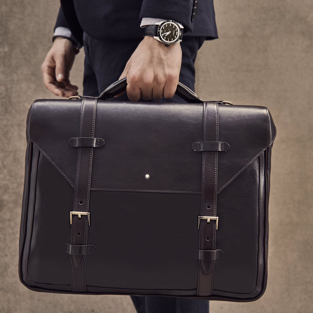 Một chiếc briefcase từ Montblanc Heritage 1926
