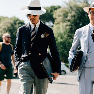 Phụ kiện thời trang ấn tượng từ Pitti Uomo 92 street style