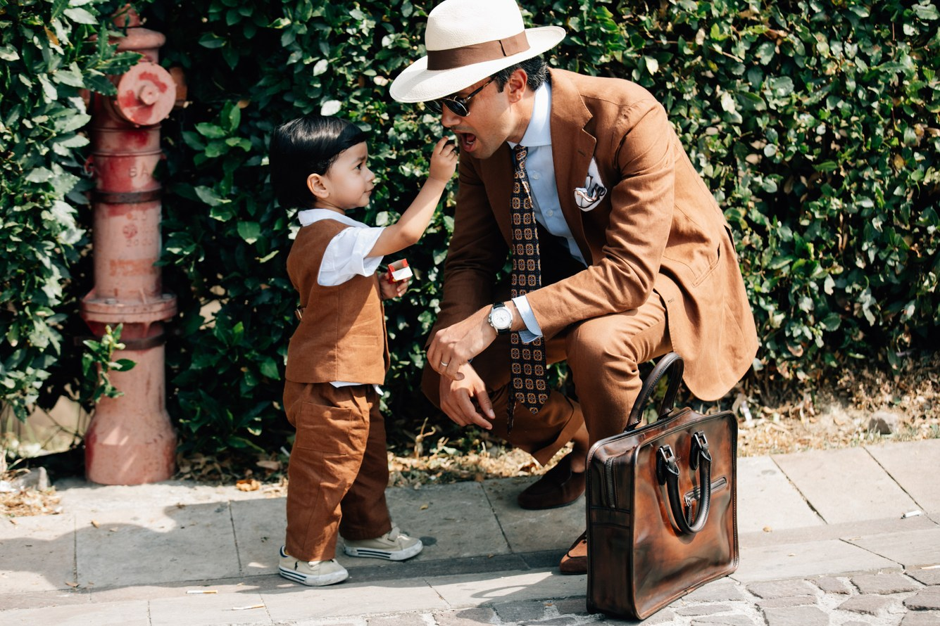 Briefcase da nâu không bao giờ lỗi mốt
