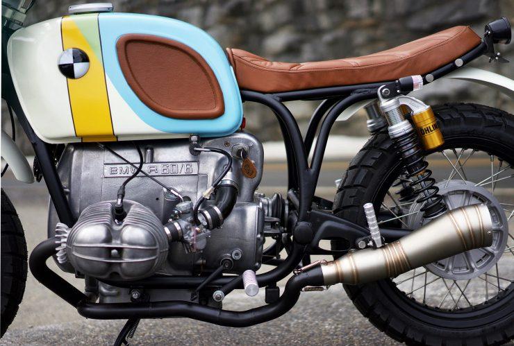 Bản độ xe BMW R60/6 ấn tượng của Vintage Steele