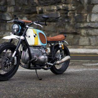 BMW R60/6 - mẫu mô tô độ ấn tượng của Vintage Steele
