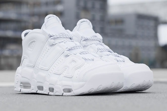Nike Air More Uptempo 'White On White' - giay the thao dep 2017 - elle man