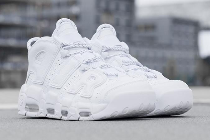 Nike Air More Uptempo 'White On White' - giay the thao dep 2017 - elle man