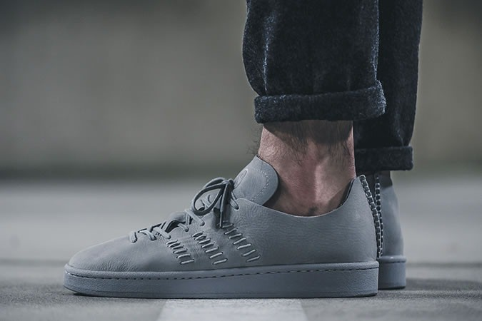 adidas By Wings + Horns Campus 'Grey' - giay the thao dep 2017 - elle man