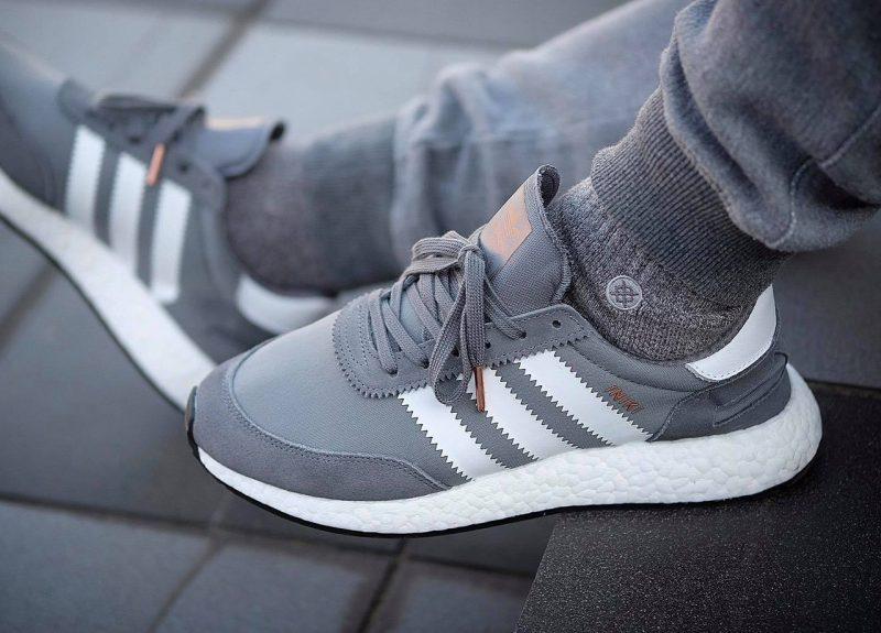 adidas Iniki Runner 'Grey.White' - giay the thao dep 2017 - elle man
