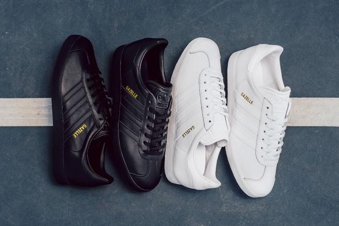 adidas Originals Gazelle Leather Premium 'Black' - giay the thao dep 2017 - elle man