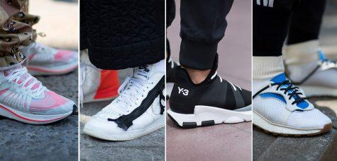 Những đôi giày sneakers tuyệt đẹp tại Milan Fashion Week 2018