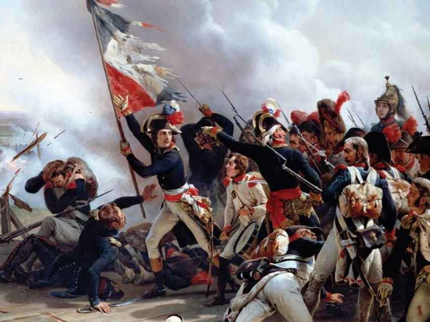 painterly pleasant french revolution - 736×552