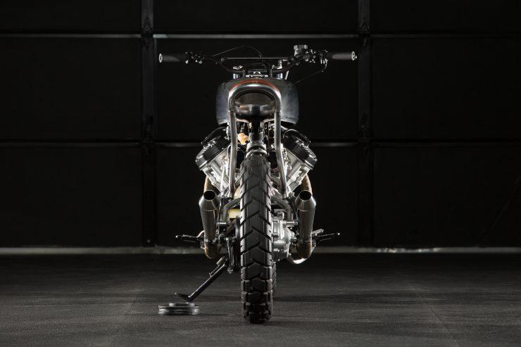 Biến Honda CX500 thành bản moto độ ấn tượng