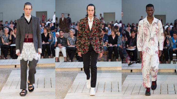 Alexander McQueen (NTK Sarah Burton - Tuần lễ thời trang London 2018)