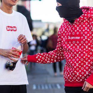 Người ta mặc gì trong ngày ra mắt Louis Vuitton x Supreme