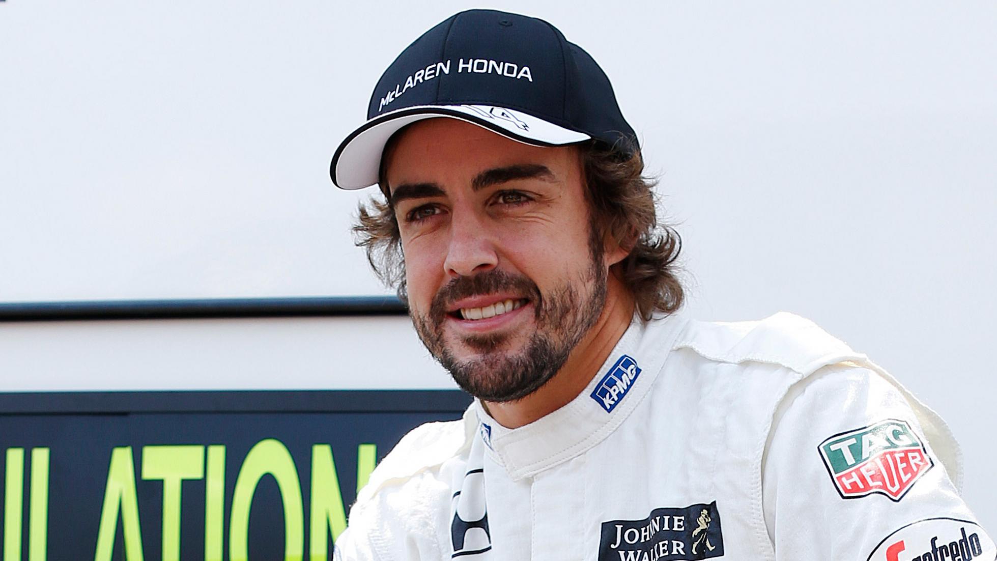 van dong vien - elle man - Fernando Alonso
