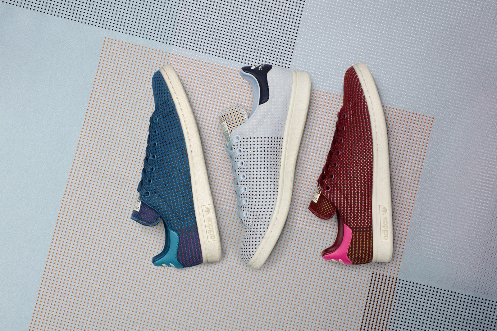 giay sneaker - elle man - Kvadrat x adidas Originals Stan Smith Collection