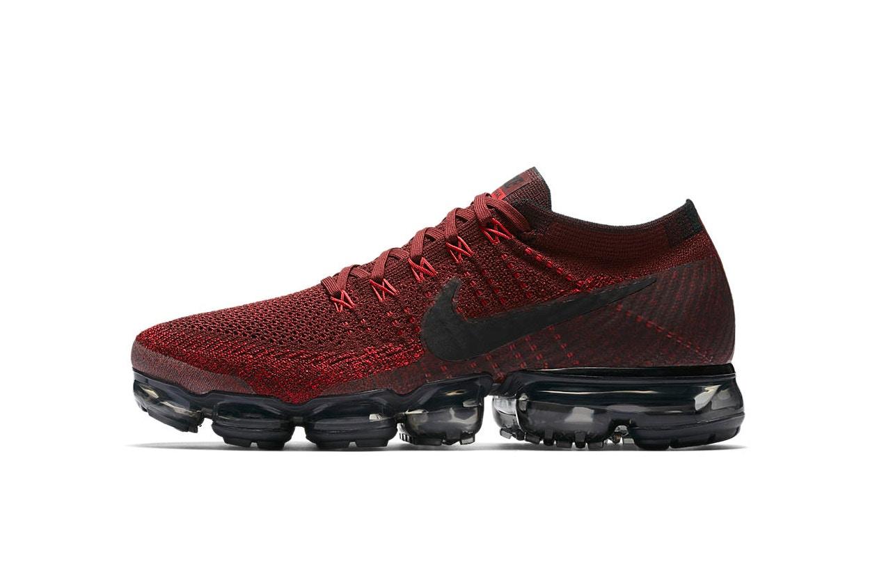 "giay sneaker - elle man - Nike Air VaporMax ""Deep Red"""