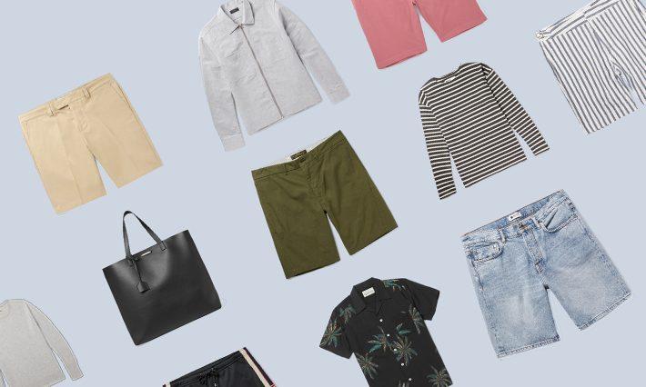 ELLE Man Style Calendar: Hè năng động cùng quần short nam (24-30/7/2017)