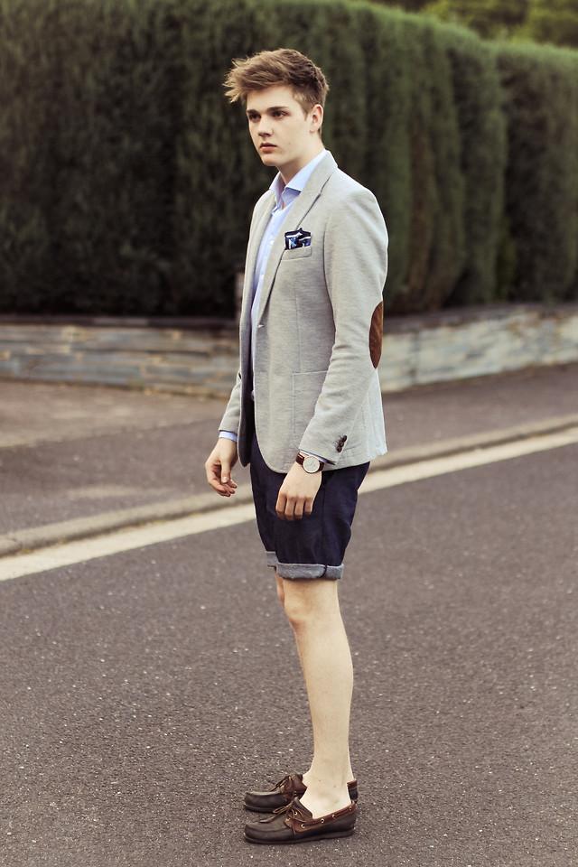 ELLE Man Style Calendar Năng động cùng quần shorts nam ngày Hè 1