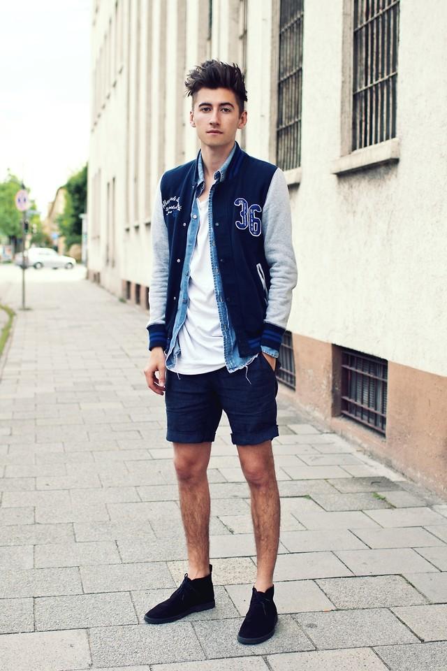 ELLE Man Style Calendar Năng động cùng quần shorts nam ngày Hè 2