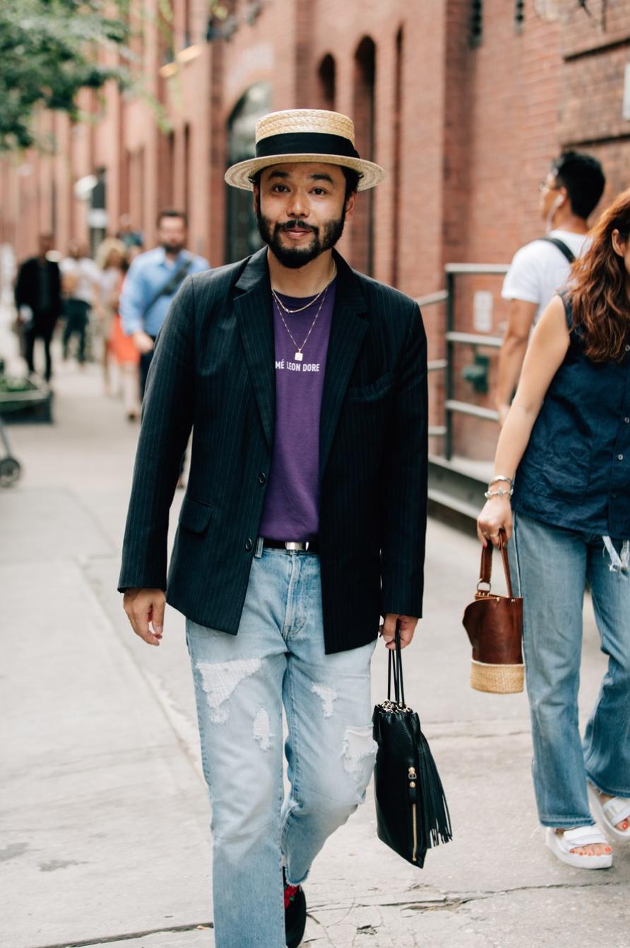 21 Streetstyle tại Tuần Lễ Thời Trang Nam New York Xuân - Hè 2017