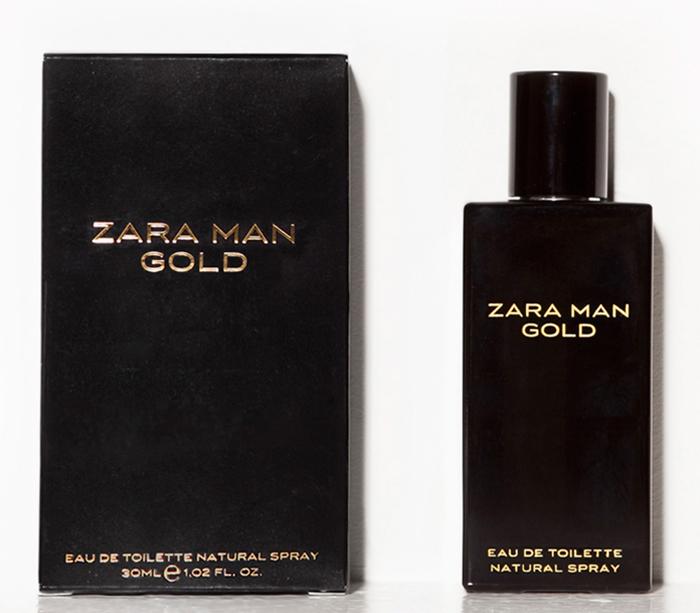 nuoc hoa nam - elle man Gold Man cua Zara