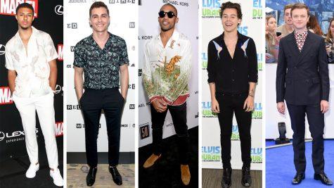 Top 9 sao nam có phong cách thời trang nổi bật nửa cuối tháng 7/2017