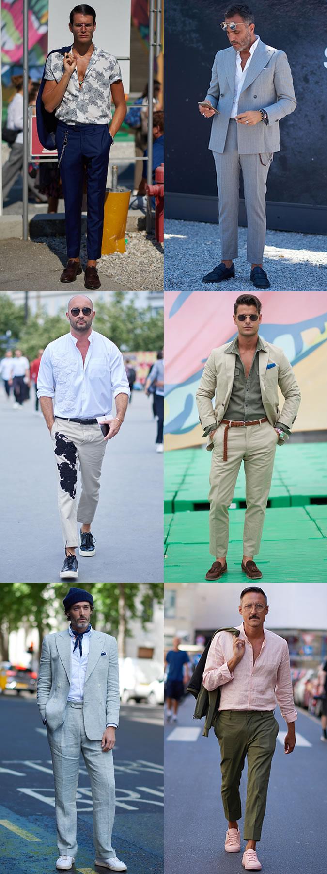 6 ELLE Man Style Calendar Thoáng mát cùng vải linen