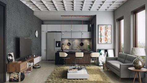 Cải tạo không gian sống với 10 xu hướng thiết kế nội thất 2017