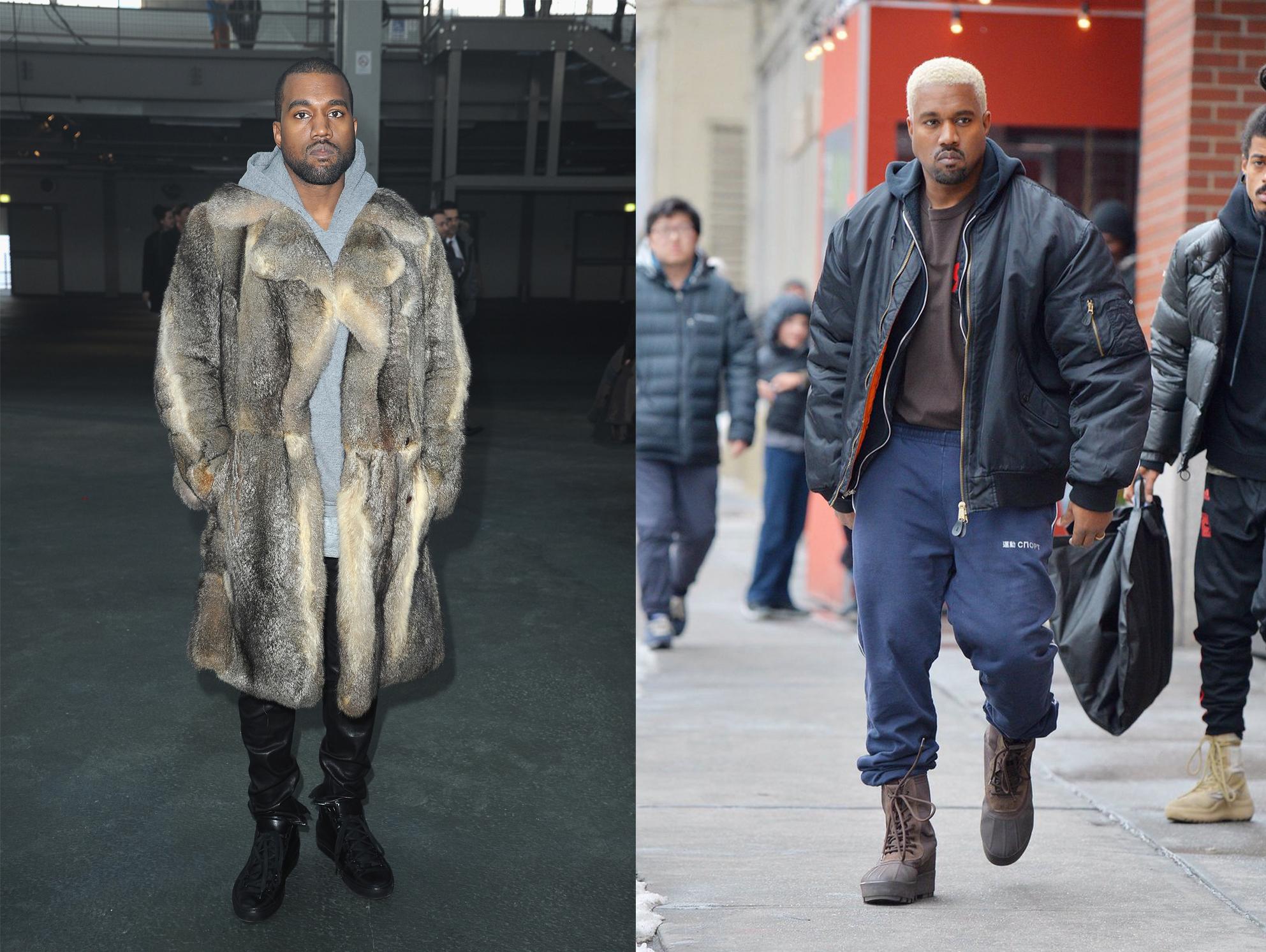 phong cach thoi trang nam - elle man - Kanye West a