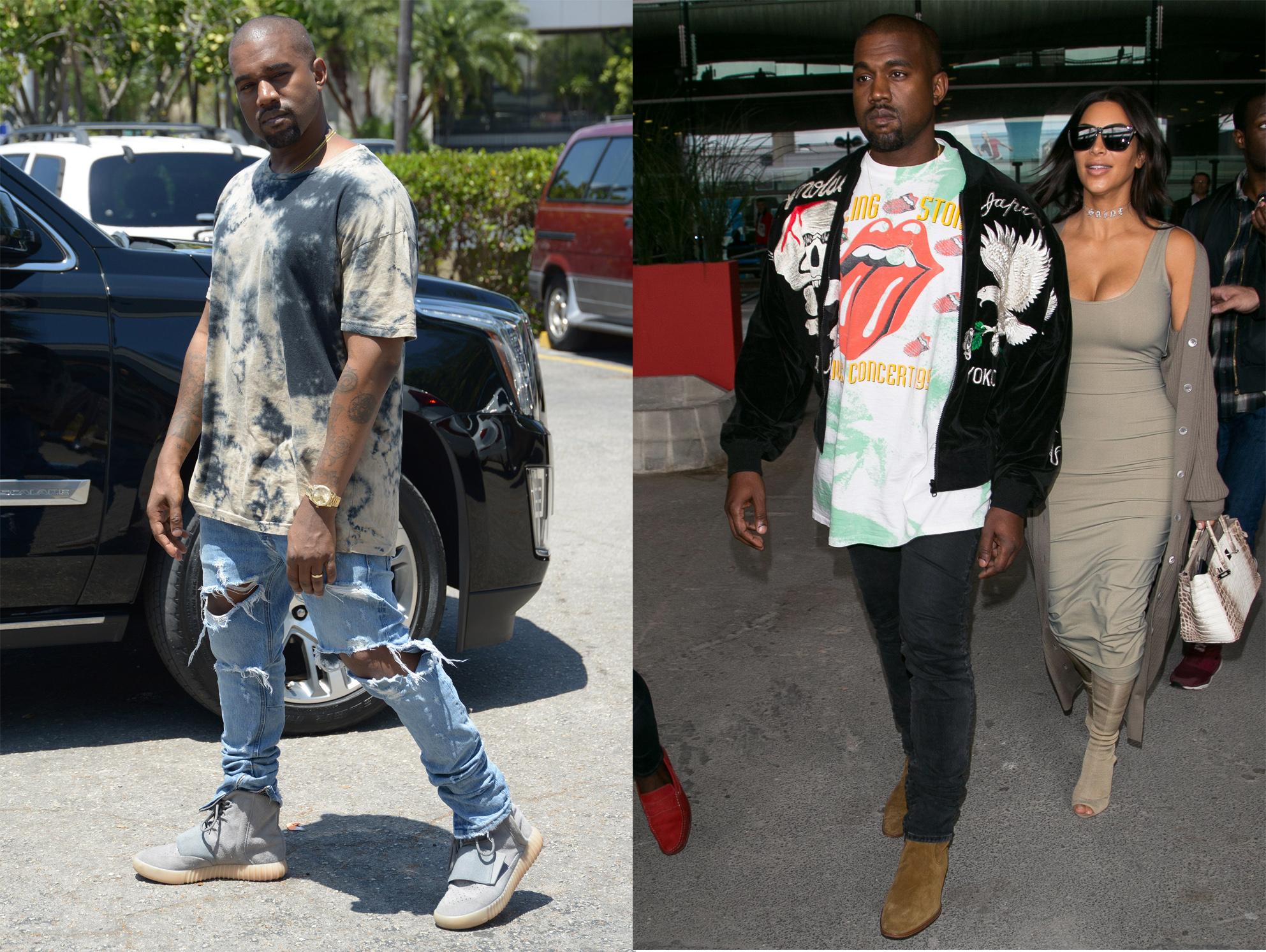 phong cach thoi trang nam - elle man - Kanye West b