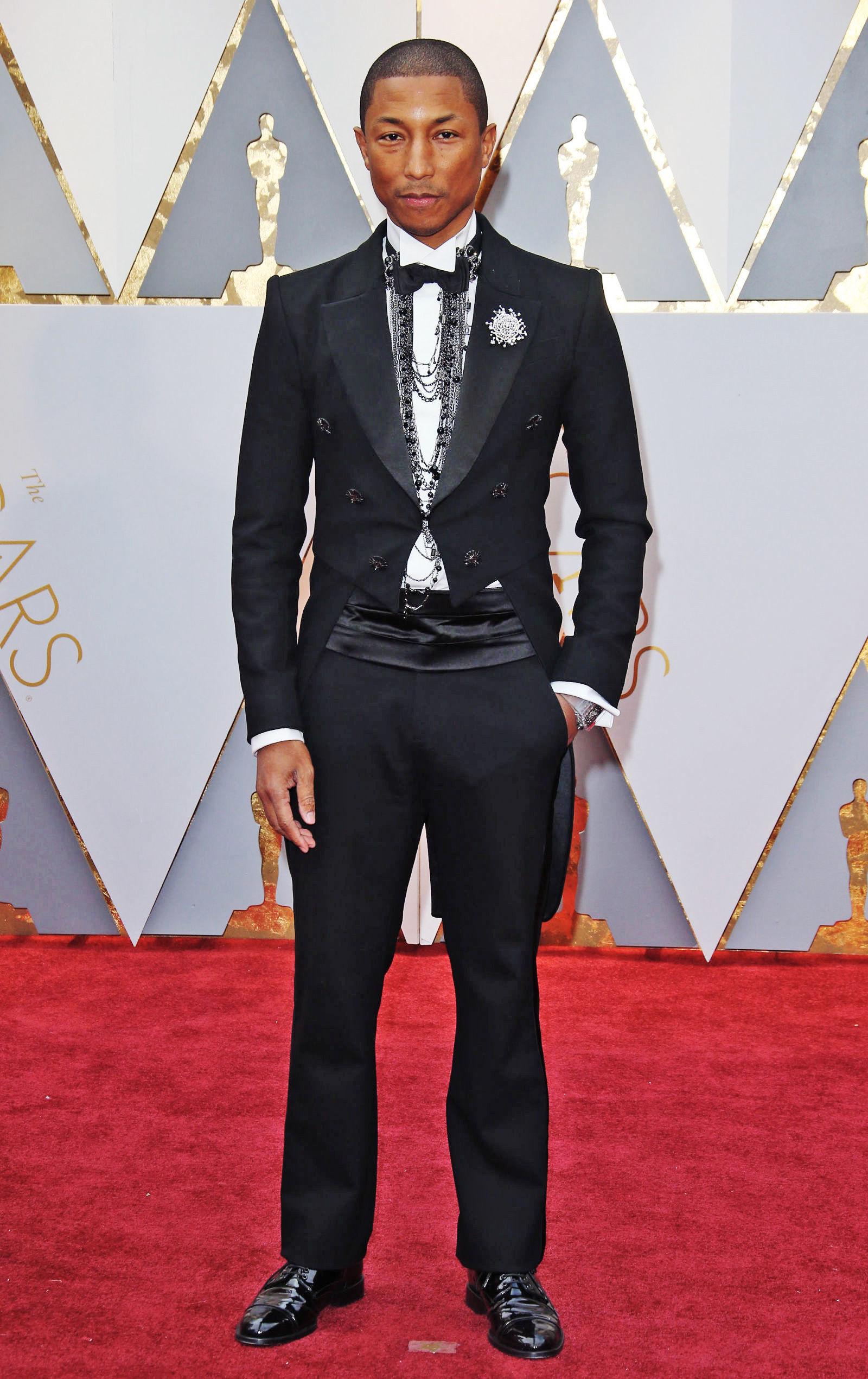 phong cach thoi trang nam - elle man - Pharrell Williams 1