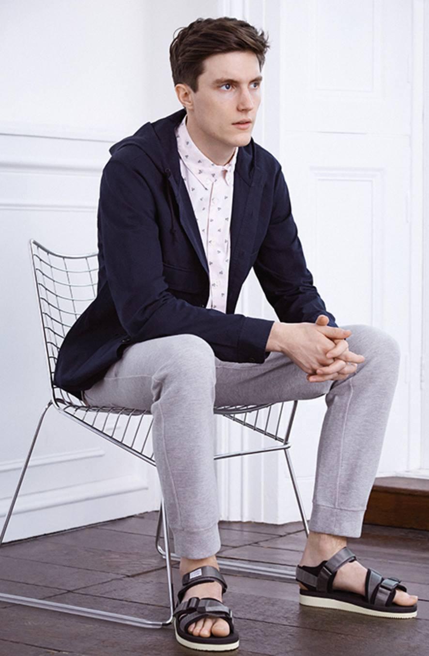 ELLE Man Style Calendar Tươi mát cùng áo sơ mi trắng 4