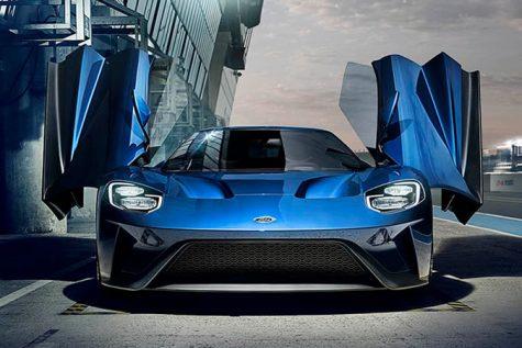 xe hơi đẹp - elle man - Ford GT 1