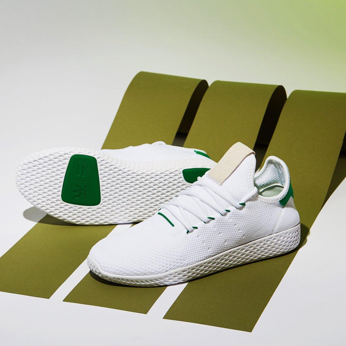 giay the thao Pharrell x adidas Originals Tennis Hu - elle man