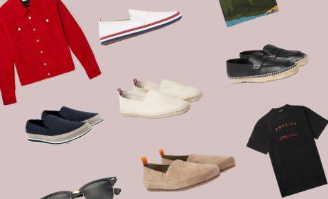 ELLE Man Style Calendar: Chuyển mùa cùng giày Espadrilles