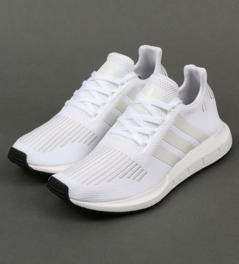 giay the thao all-white - adidas swift run primeknit - elle man 2