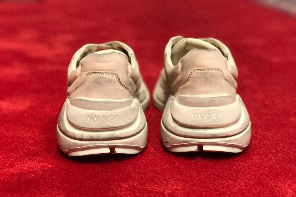 """giay the thao ugly sneakers gucci runner elle man 1 - 9 thiết kế giày thể thao """"Xấu Lạ"""" đáng chú ý nhất hiện nay"""