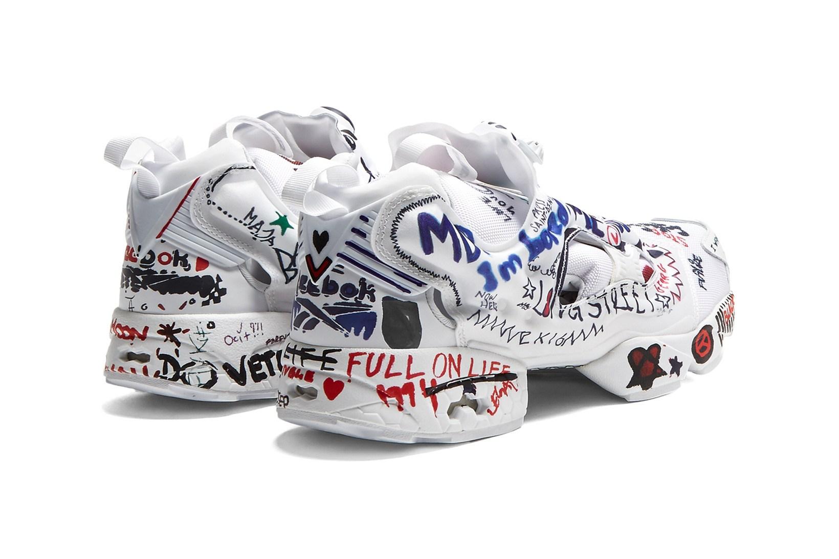"""giay the thao ugly sneakers instapump fury vetements elle man 1 - 9 thiết kế giày thể thao """"Xấu Lạ"""" đáng chú ý nhất hiện nay"""