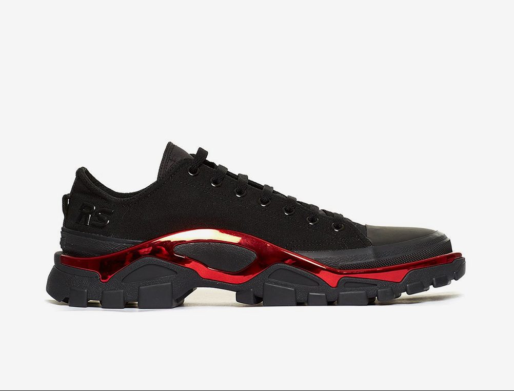 giay the thao ugly sneakers - raf simons adidas new runner - elle man 2