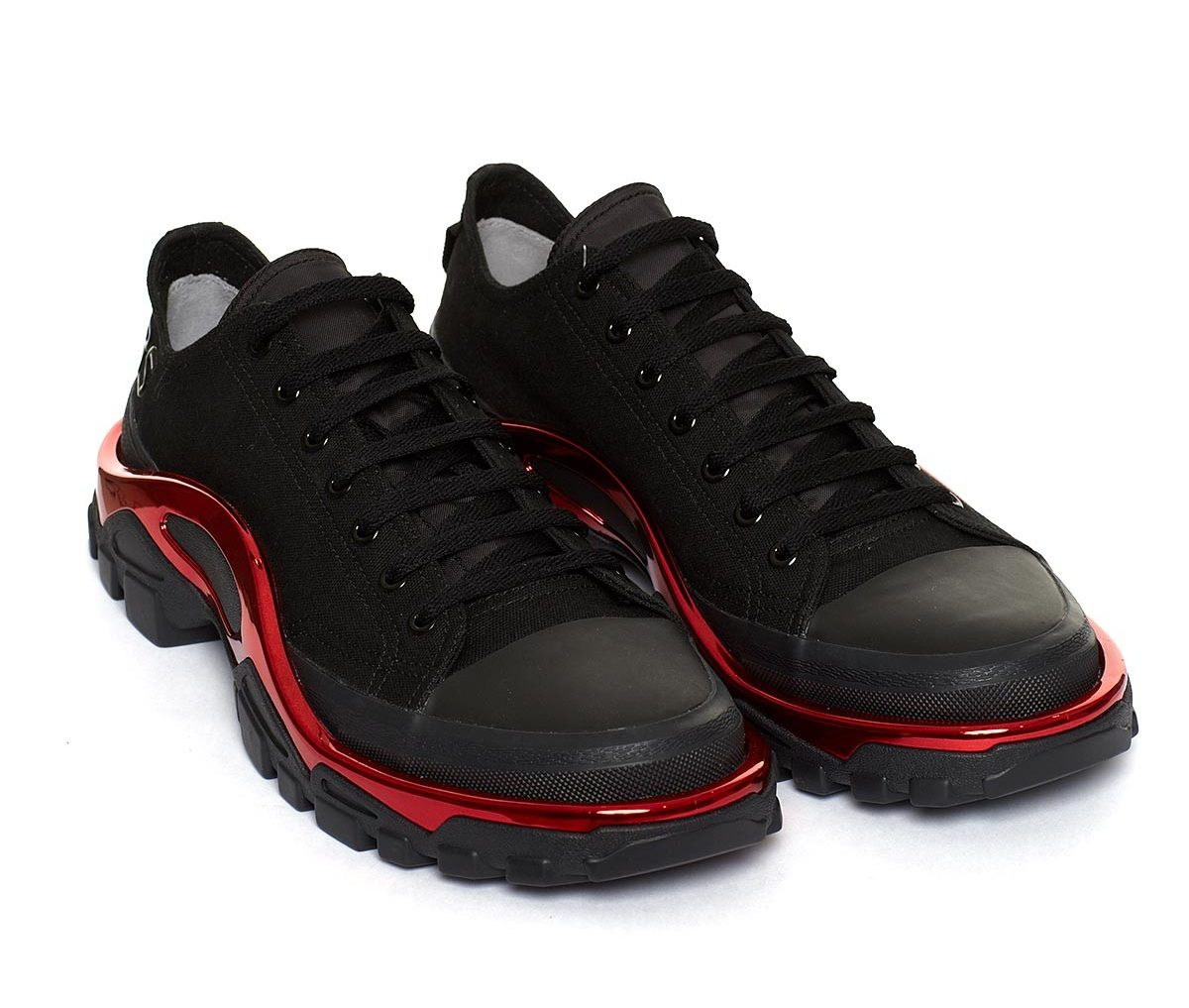 giay the thao ugly sneakers - raf simons adidas new runner - elle man