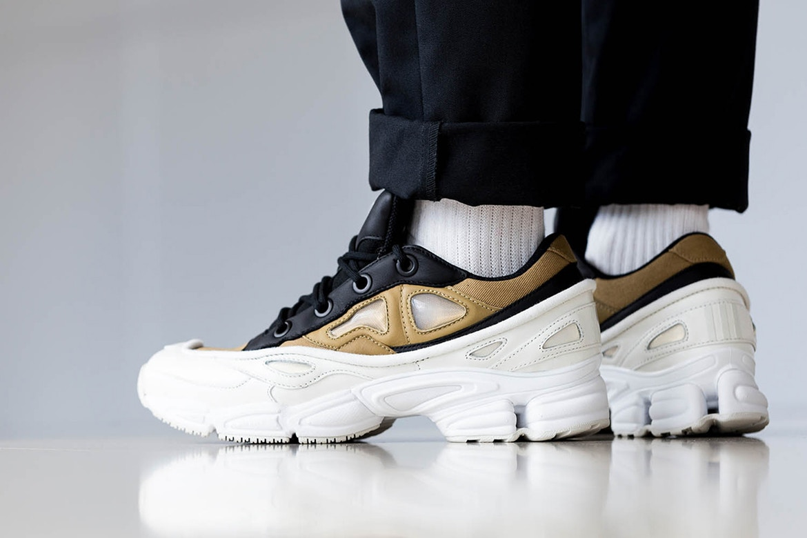 giay the thao ugly sneakers - raf simons adidas ozweego - elle man