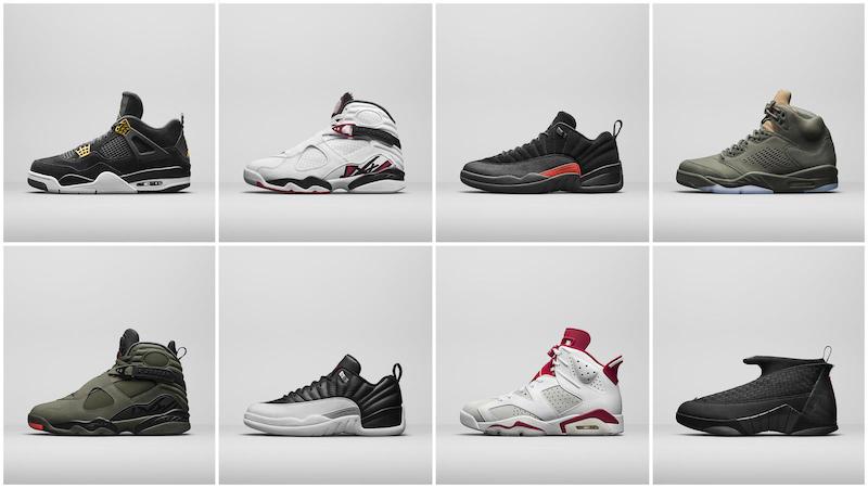 Sự hồi sinh của giày nam Jordan