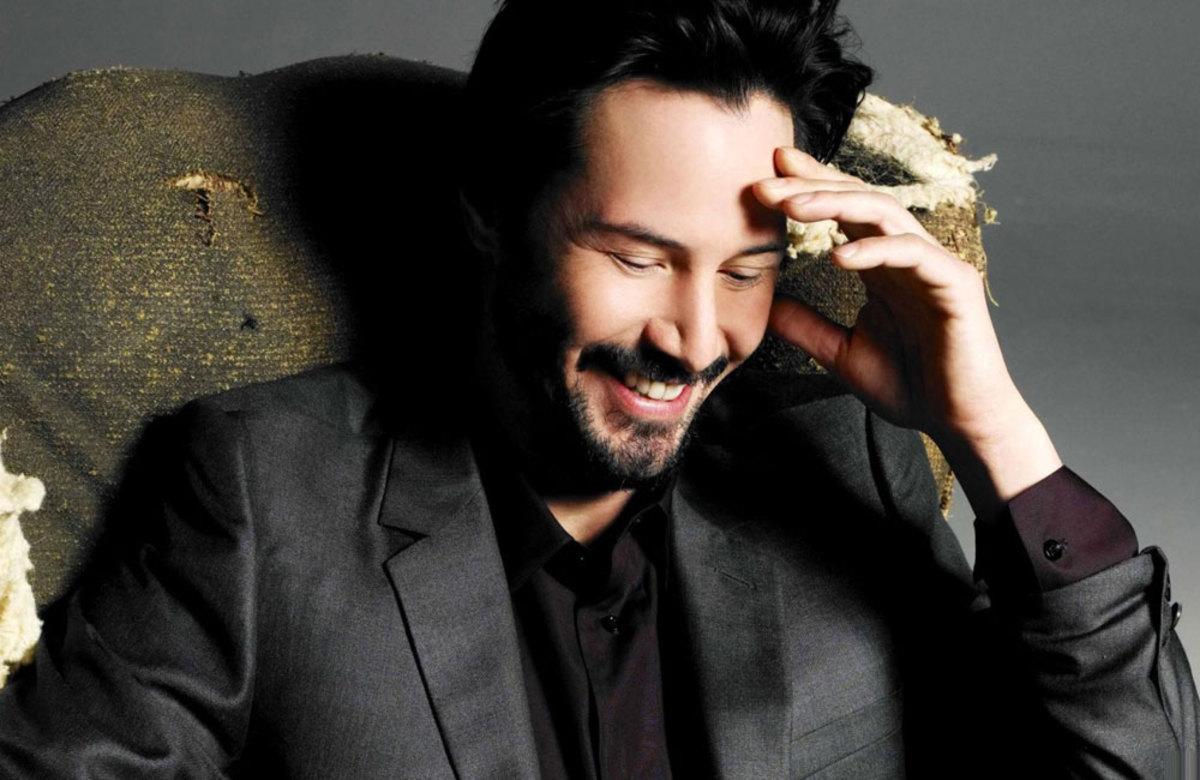 Keanu Reeves - ELLE MAN