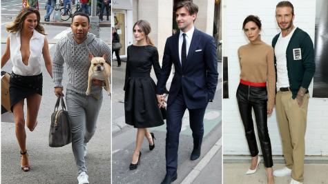 10 cặp đôi thời trang đình đám của thế giới