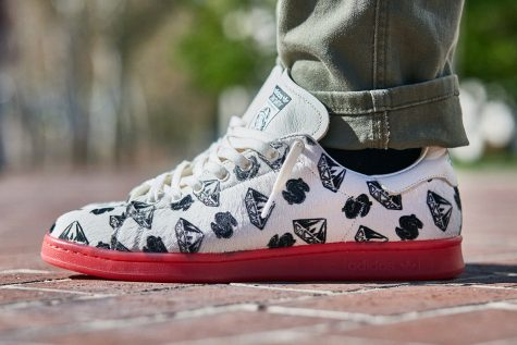 "giay the thao pharrell williams Billionaire Boys Club x adidas Originals Stan Smith ""Pony Hair"" (2015) - elle man"